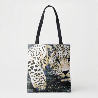 Bolsa Tote Gráfico bonito do leopardo