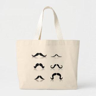Bolsa Tote Grande 116Set de Mustaches_rasterized