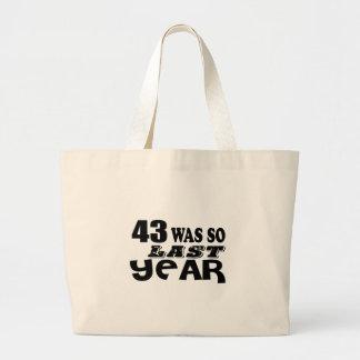 Bolsa Tote Grande 43 era assim tão no ano passado o design do