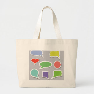 Bolsa Tote Grande 66Speech Bubbles_rasterized