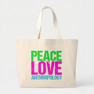 Bolsa Tote Grande A antropologia do amor da paz