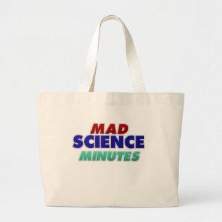 Bolsa Tote Grande A ciência louca cronometra a sacola… não-manchado