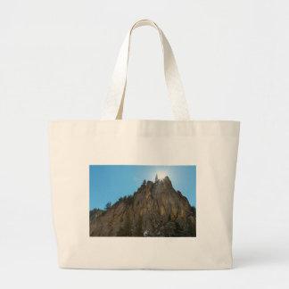 Bolsa Tote Grande A garganta de Boulder reduz o pináculo