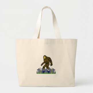 Bolsa Tote Grande A milha verde