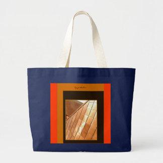 Bolsa Tote Grande A pedra de cobre trabalha a sacola por Gretchen