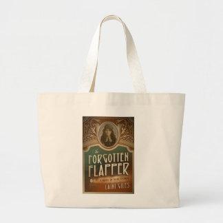 Bolsa Tote Grande A sacola esquecida do Flapper