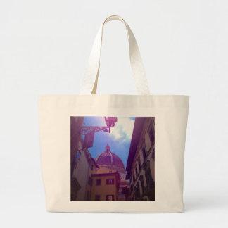 Bolsa Tote Grande Abóbada de Brunelleschi em Florença, Italia