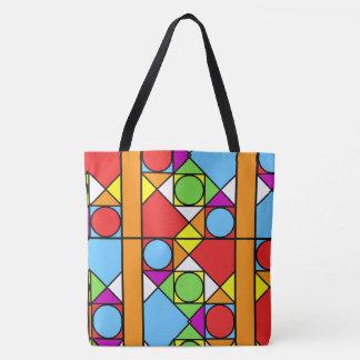 Bolsa Tote Grande - abstracção feita sob medida #1 da sacola