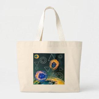 Bolsa Tote Grande Ágata do espaço