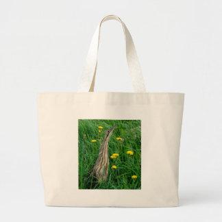 Bolsa Tote Grande Água-mãe, pássaro de água do norte de Ontário