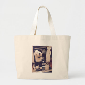 Bolsa Tote Grande Amor do Sheepdog