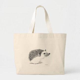 Bolsa Tote Grande Animal do ouriço do bebê