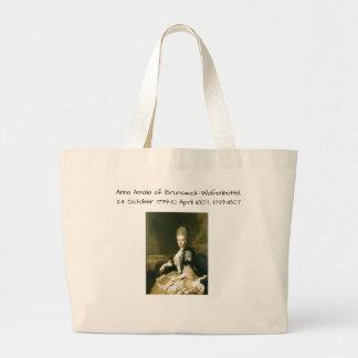 Bolsa Tote Grande Anna Amalia de Brunsvique-Wolfenbuttel 1739-1807