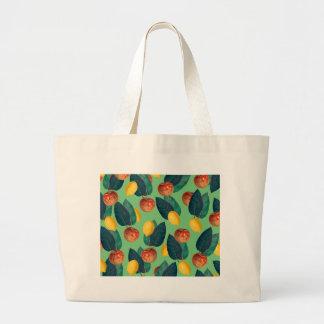 Bolsa Tote Grande aples e verde dos limões