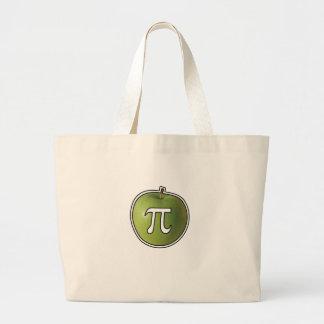 Bolsa Tote Grande Apple Pi
