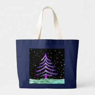 Bolsa Tote Grande Árvore de Natal