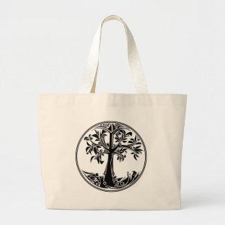Bolsa Tote Grande Árvore mágica