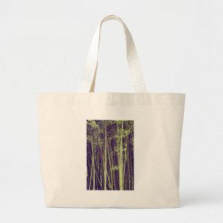 Bolsa Tote Grande Árvores de bambu