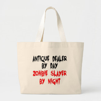 Bolsa Tote Grande Assassino do zombi do negociante antigo