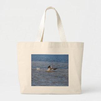 Bolsa Tote Grande Aterragem do pelicano