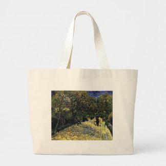 Bolsa Tote Grande Avenida com as árvores de castanha em Arles - Van