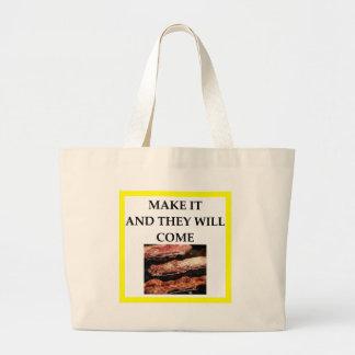 Bolsa Tote Grande bacon