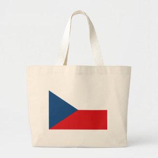 Bolsa Tote Grande Baixo custo! Bandeira da república checa