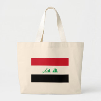 Bolsa Tote Grande Baixo custo! Bandeira de Iraque