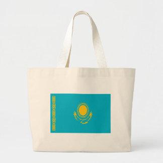 Bolsa Tote Grande Baixo custo! Bandeira de Kazakhstan