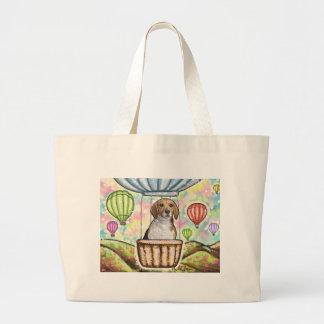 Bolsa Tote Grande - balão quente do cabelo