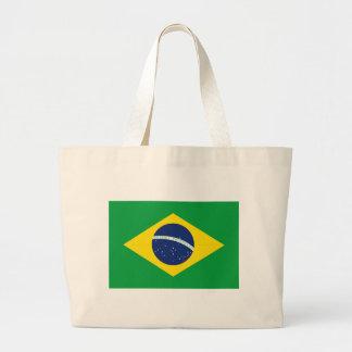 Bolsa Tote Grande Bandeira brasileira