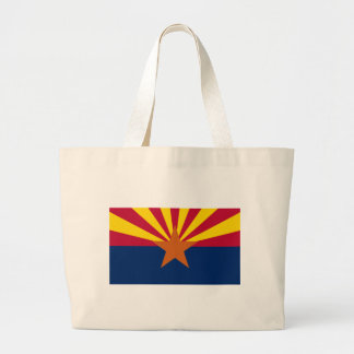 Bolsa Tote Grande Bandeira da arizona