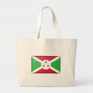 Bolsa Tote Grande Bandeira de Burundi