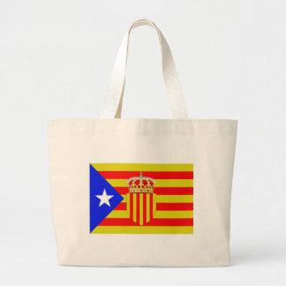 Bolsa Tote Grande Bandeira de Catalonia