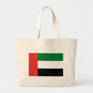 Bolsa Tote Grande Bandeira de Emiradosarabes