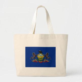 Bolsa Tote Grande Bandeira de Pensilvânia
