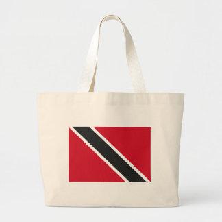 Bolsa Tote Grande Bandeira de Trinidadtobago