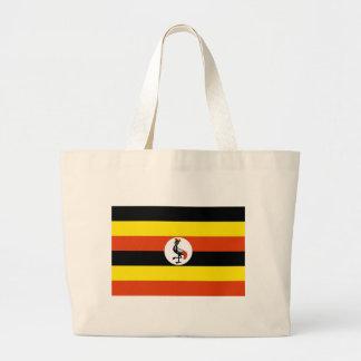 Bolsa Tote Grande Bandeira de Uganda
