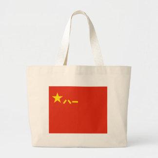 Bolsa Tote Grande Bandeira do PLA de China - bandeira chinesa -) do