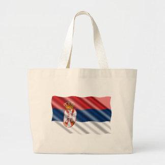 Bolsa Tote Grande Bandeira sérvio