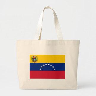 Bolsa Tote Grande Bandeira venezuelana - bandeira de Venezuela -
