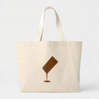 Bolsa Tote Grande Bar de chocolate derretido