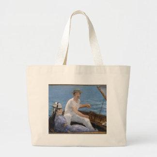 Bolsa Tote Grande Barco - Édouard Manet
