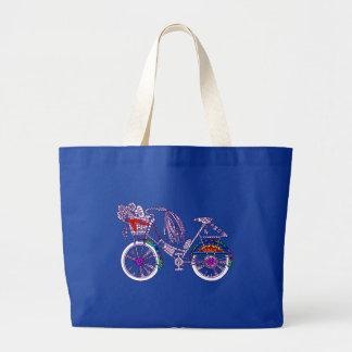 Bolsa Tote Grande Bicicleta