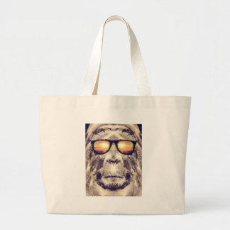 Bolsa Tote Grande Bigfoot nas máscaras