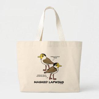 Bolsa Tote Grande Birdorable mascarou a subespécie do galispo