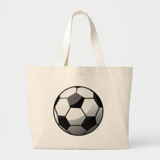 Bolsa Tote Grande Bola de futebol