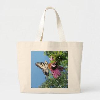 Bolsa Tote Grande Borboleta (tigre Swallowtail)