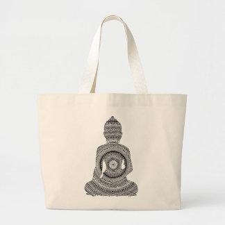 Bolsa Tote Grande Buda GraphiZen