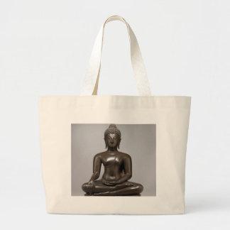 Bolsa Tote Grande Buddha assentado - século XV